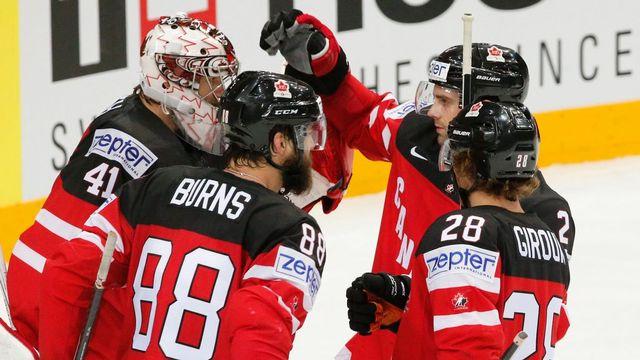 Les Canadiens se sont imposés 2 à 0 ce samedi. [Armando Babani - EPA - Keystone]
