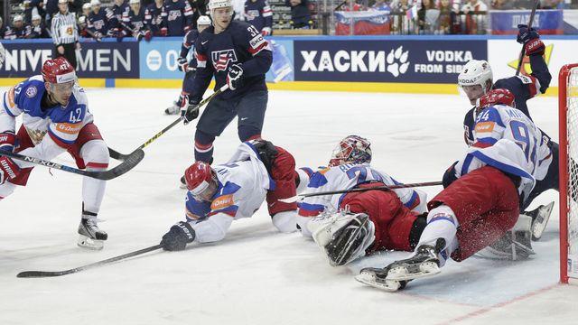 Les Russes ont fait preuve d'une solidité à toute épreuve. [Petr David Josek - Keystone]