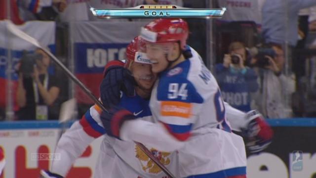 2e demi-finale: Etats-Unis - Russie (0-1). A 11 minutes de la fin, les Russes trouvent enfin la faille [RTS]
