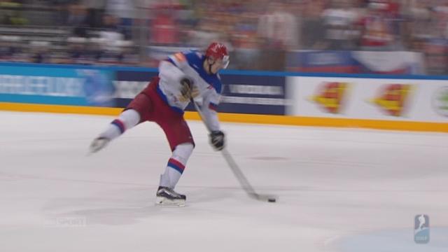 2e demi-finale: Etats-Unis - Russie (0-4). Les Américains boivent le calice jusqu'à la lie avec ce but dans le but vide [RTS]