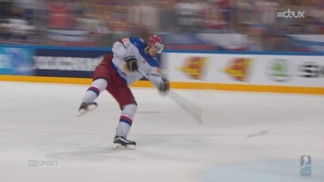 Hockey - Mondiaux: Etats-Unis - Russie (0-4) [RTS]