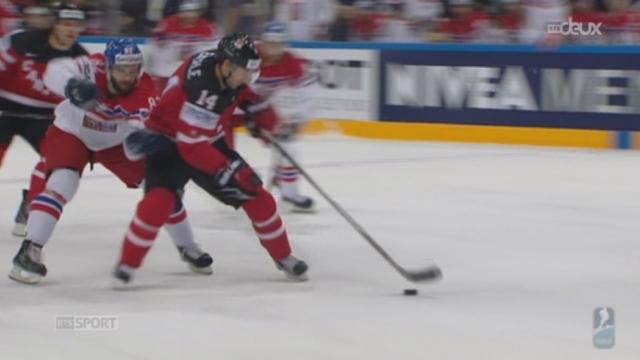 Hockey - Mondiaux: Canada - République Tchèque (2-0) [RTS]