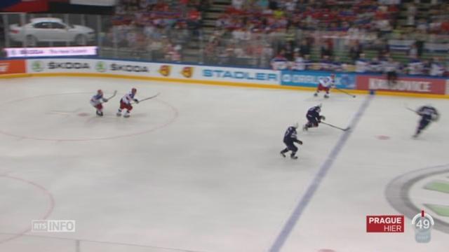 Hockey - Championnat du monde: la Russie s'est imposée face aux Etats-Unis 4 à 0 en demi-finale [RTS]