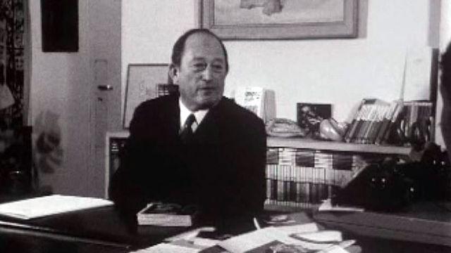 L'éditeur Pierre Seghers parle de sa collection: Poètes d'aujourd'hui.