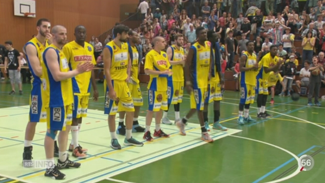 Basketball- LNA: les Genevois ne sont plus qu'à une victoire du titre [RTS]