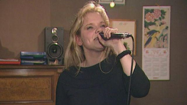 Tiffen, candidate romande au Concours de l'Eurovision en 2004. [TSR]