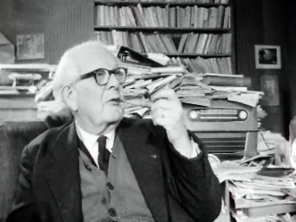 Jean Piaget, un savant de renom et un homme simple et perspicace.