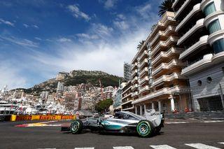 Lewis Hamilton durant le Grand Prix de Monaco 2015.  [Michel Le Meur - AFP]