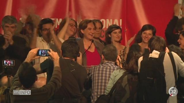 Elections régionales en Espagne: Podemos est le grand vainqueur à Barcelone et Madrid [RTS]