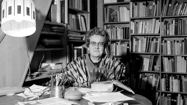 L'ethnologue Germaine Tillion en 1972 [STF / AFP FILES / AFP]