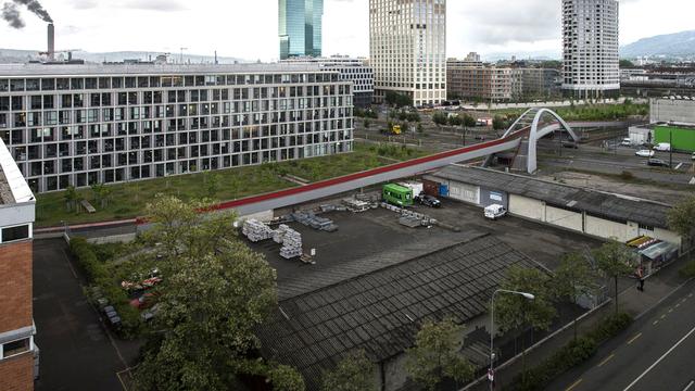 Le centre est prévu sur l'aire Duttweiler, à l'ouest de la ville de Zurich. [Ennio Leanza - Keystone]