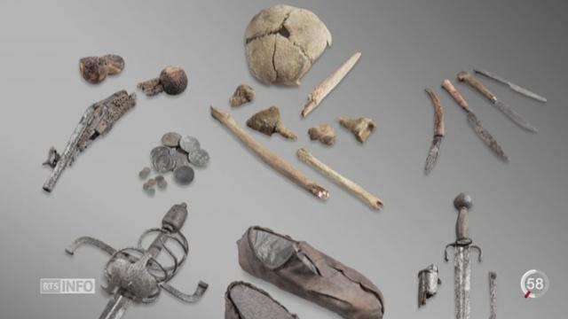VS: le recul des glaciers fait apparaître des vestiges archéologiques [RTS]