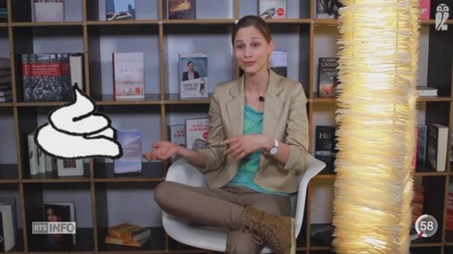 """Giulia Enders parle d'intestin et de digestion dans son livre """"Le charme discret de l'intestin"""" [RTS]"""