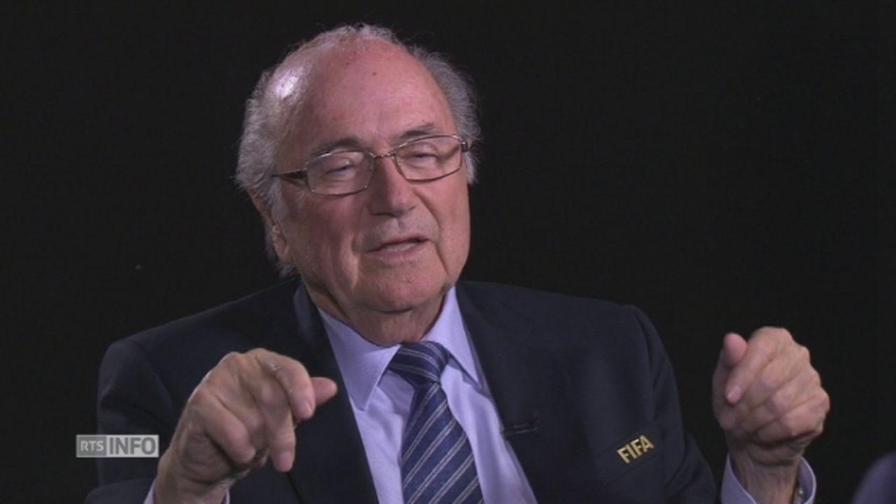 Sepp Blatter, l'entretien intégral [RTS]