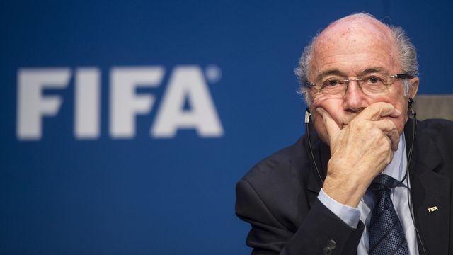 Sepp Blatter. [Ennio Leanza - AP/Keystone]