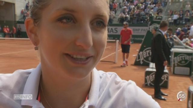 Tennis- Roland Garros: Timea Bacsinszky accède aux huitièmes de finale après sa victoire contre l'Américaine Keys (6-4, 6-2) [RTS]