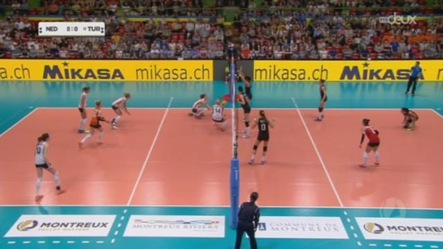 Montreux Volley Masters: la Turquie se qualifie pour la finale après sa victoire contre les Pays-Bas (3-2) [RTS]