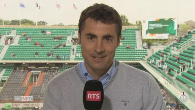 Tennis - Roland Garros: les précisions de Frédéric Scola depuis Paris [RTS]