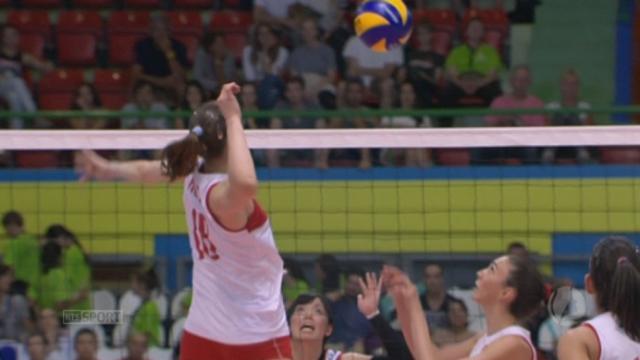 Finale, Turquie - Japon (22-25 19-25 25-19). Les Turques reviennent à 1 manche à 2 [RTS]