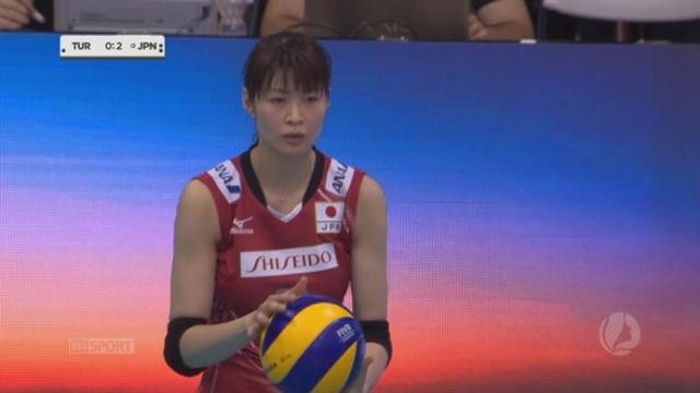 Finale, Turquie - Japon (22-25 19-25 25-19 0-3). Un libero japonais et un petit chef-d'oeuvre [RTS]