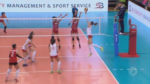 Finale, Turquie - Japon (22-25 19-25 25-19 25-22 2-0). Un échange exceptionnel [RTS]