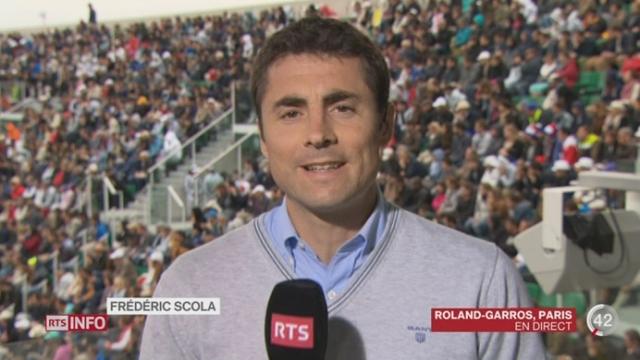 Tennis - Roland-Garros: le point avec Frédéric Scola [RTS]