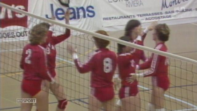 Le Montreux Volley Masters est devenu une compétition incontournable dans le monde du volley [RTS]