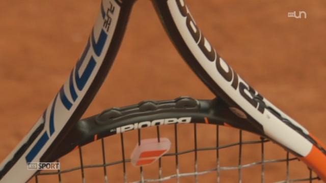 Tennis: reportage sur les raquettes connectées, une technologie française [RTS]