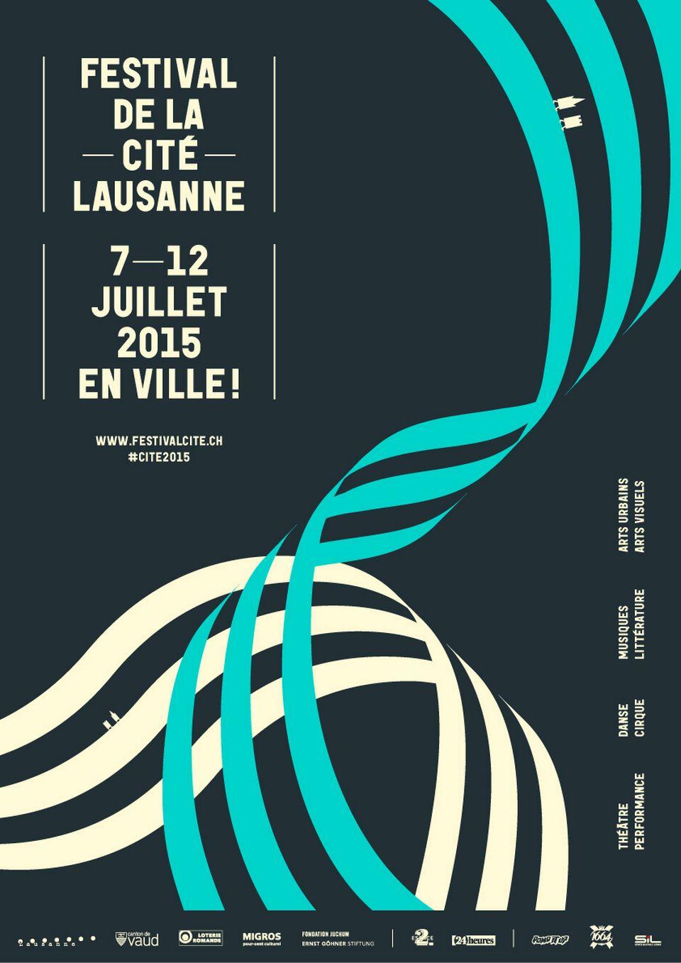 Affiche du festival de la Cité 2015. [http://festivalcite.ch/]