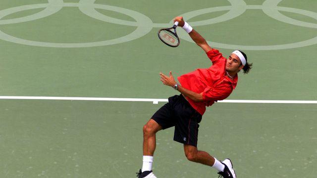 Roger Federer, en 2000, au tournoi olympique de Sydney. Etait-ce déjà le même Roger? [Amy Sancetta - Keystone]