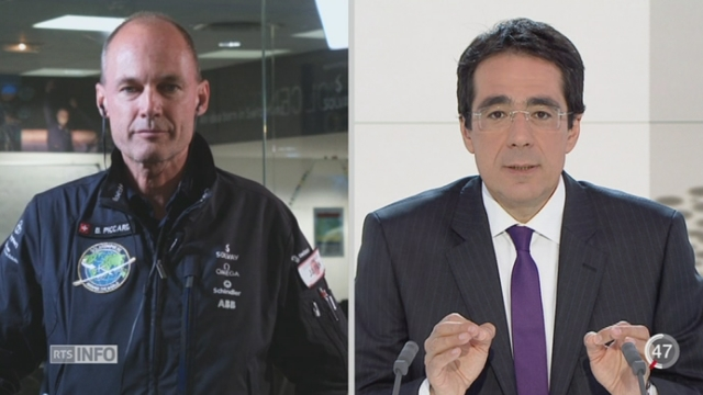Escale forcée de Solar Impulse au Japon: les commentaires de Bertrand Piccard à Monaco