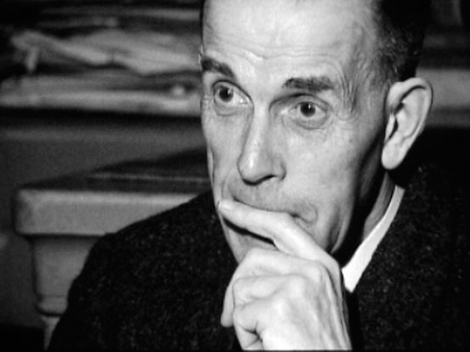Gustave Roud en 1965. [RTS]