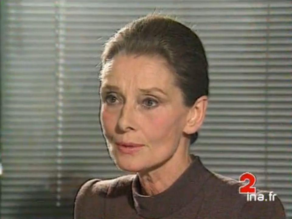 Audrey Hepburn. [INA]