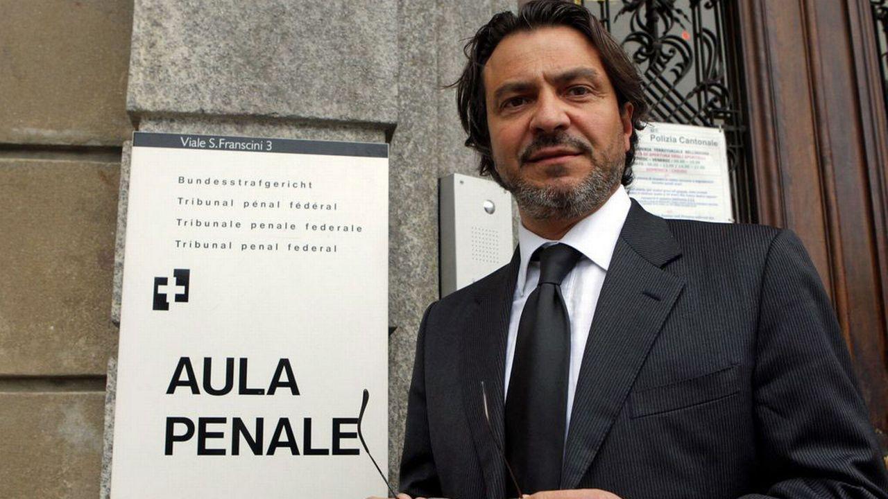 Pierluigi Pasi, procureur en chef de l'antenne luganaise du MPC (ici en 2009). [Karl Mathis - Keystone]