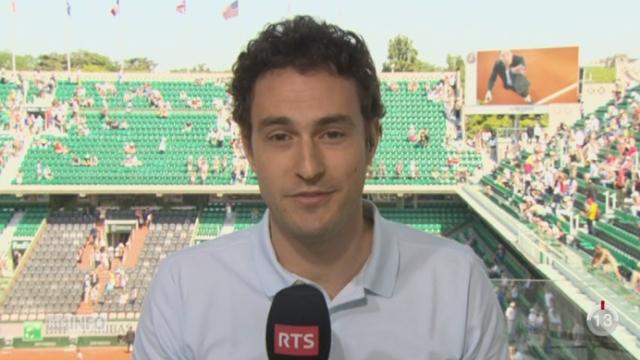Tennis - Roland-Garros: le point avec Marc Gisclon depuis Paris [RTS]