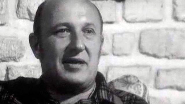 L'écrivain Frédéric Dard en 1967. [RTS]