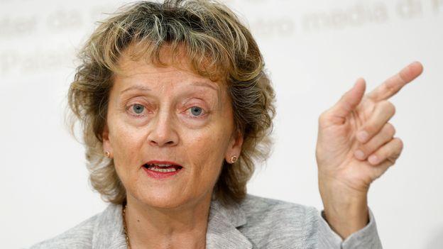 Eveline Widmer-Schlumpf ouverte à un projet d'amnistie fiscale en Suisse