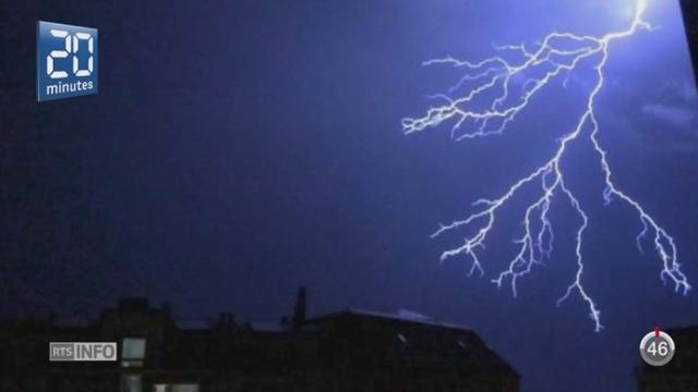 L'Oberland bernois, Saint-Gall et les Grisons ont été fortement touchés par de violents orages [RTS]