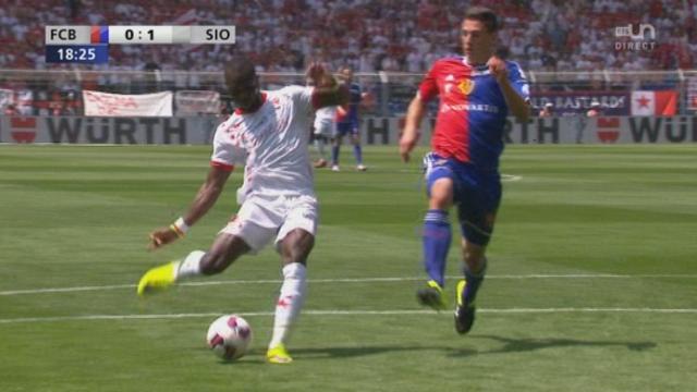 Finale, FC Bâle - FC Sion (0-1): le FC Sion passe à l'attaque et ouvre le score [RTS]