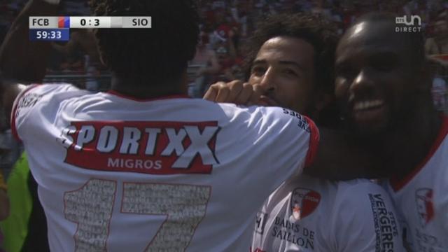 Finale, FC Bâle - FC Sion (0-3): et de trois pour Sion avec un nouveau but de Carlitos [RTS]