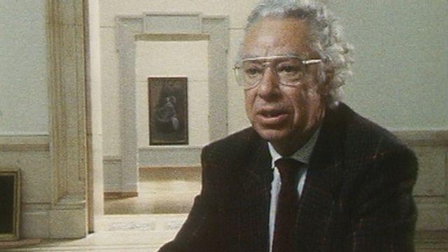 Le conservateur du Musée d'art et d'histoire de Genève Charles Goerg en 1989. [RTS]