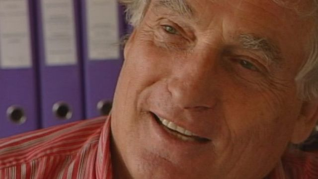 Le mécène valaisan Léonard Gianadda en 2004. [RTS]