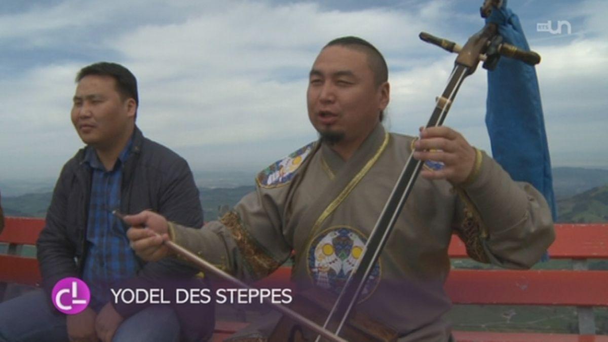 Un groupe de yodel des environs de Saint-Gall a chanté avec un choeur venu de Mongolie