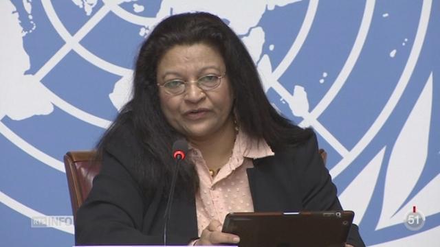 Erythrée: une enquête de l'ONU dénonce la violation des droits de l'Homme [RTS]