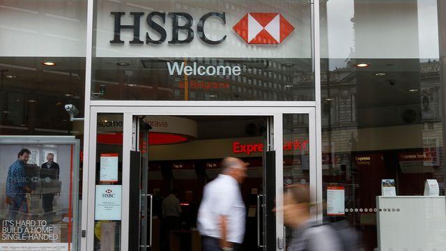 HSBC va se séparer de quelque 50'000 employés. [Kirsty Wigglesworth - AP/Keystone]
