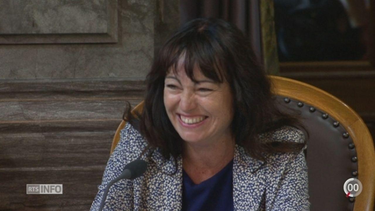 Conseil des Etats: Géraldine Savary pique un fou rire [RTS]