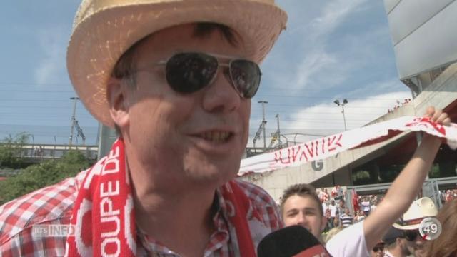 Football - Coupe de Suisse: 15'000 supporters valaisans ont enflammé le stade à Bâle [RTS]