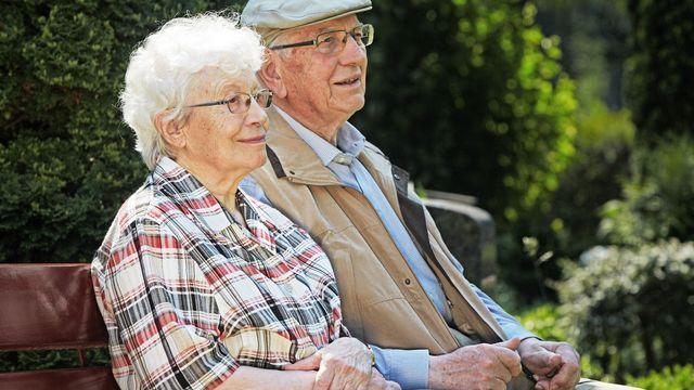 Amour et personnes âgées. [Ingo Bartussek - Fotolia]