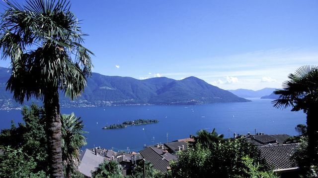 Les effets du franc fort se font particulièrement sentir sur les rives suisses du lac Majeur [AFP]
