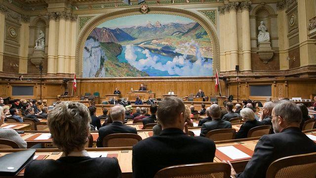 Le Parlement à Berne. [Peter Schneider - Keystone]